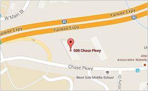 Waterbury Office Map