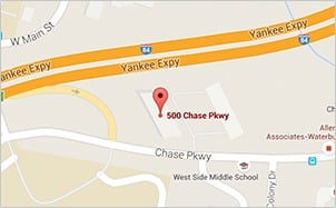 on chase locations map